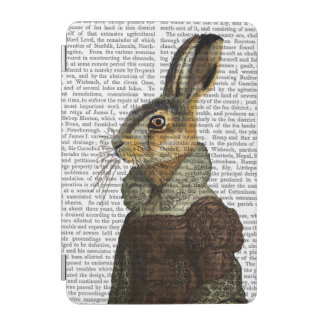 Madam Hare Portrait iPad Mini Cover