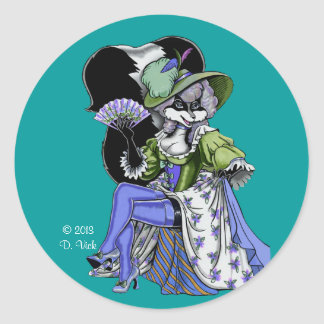 Madame de Pew Sticker