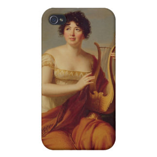 Madame de Stael as Corinne Covers For iPhone 4