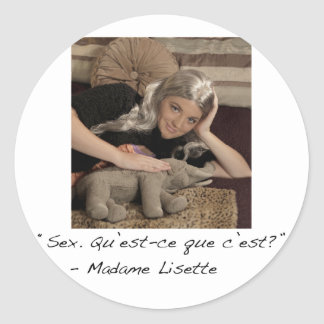 Madame Lisette Sticker