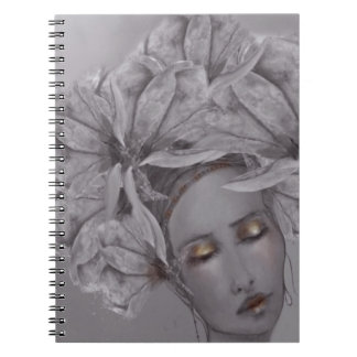 Madame Magnolia Spiral Notebook