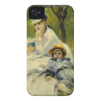 Madame Monet and her Son by Auguste Renoir iPhone 4 Case-Mate Case