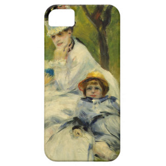 Madame Monet and her Son by Auguste Renoir iPhone 5 Cases