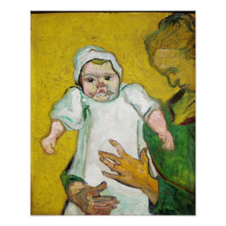 Madame Roulin with Baby by Vincent Van Gogh Photo Art