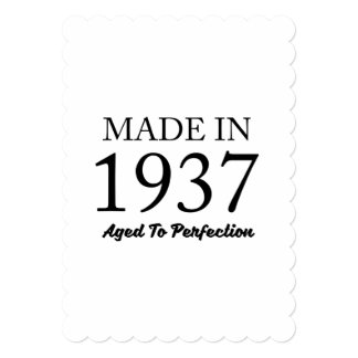 Made In 1937 Card