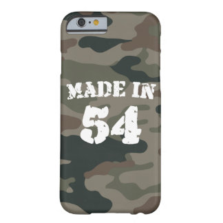 Made In 1954 iPhone 6/6s Barely There iPhone 6 Case