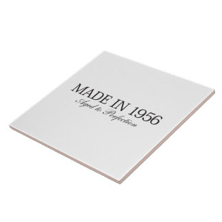 Made in 1956 large square tile