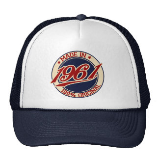 Made In 1961 Cap