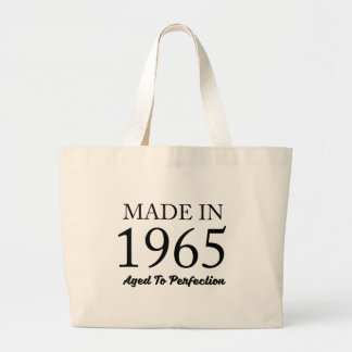 Made In 1965 Large Tote Bag