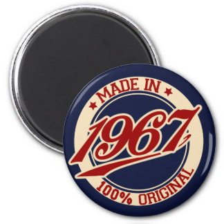 Made In 1967 Magnet