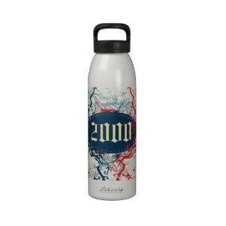 Made in 2000 or Since 2000 or 2000 Birthday Year Drinking Bottles