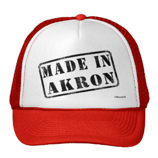 Made in Akron Cap