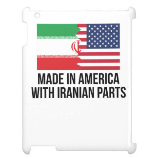 Made In America With Iranian Parts iPad Cover