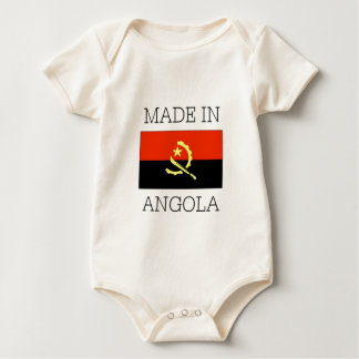 Made in Angola Baby Bodysuit