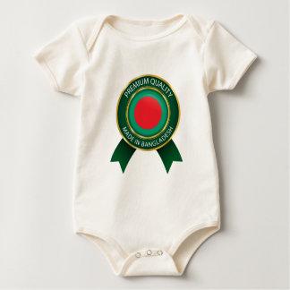 Made in Bangladesh Flag, Bangladech Seal Baby Bodysuit