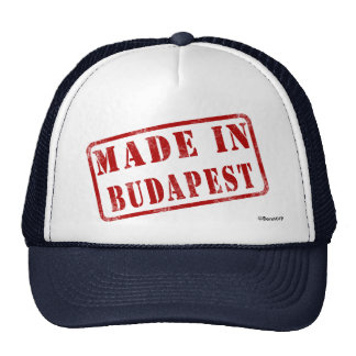 Made in Budapest Cap