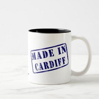 Made in Cardiff Two-Tone Coffee Mug