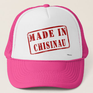 Made in Chisinau Trucker Hat