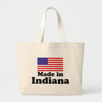 Made in Indiana Large Tote Bag