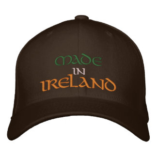 MADE  IN  IRELAND EMBROIDERED HATS