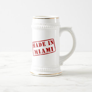 Made in Miami Beer Stein