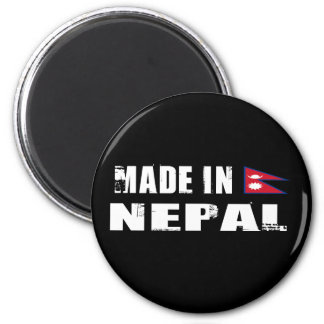 Made in Nepal 6 Cm Round Magnet