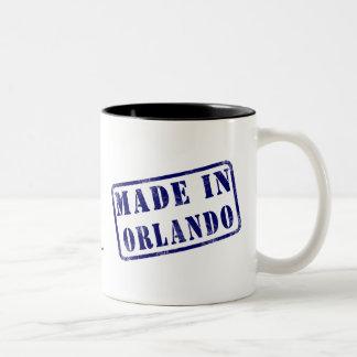 Made in Orlando Two-Tone Coffee Mug