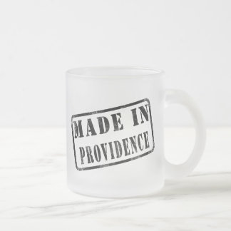 Made in Providence Frosted Glass Mug