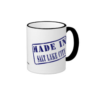Made in Salt Lake City Coffee Mug