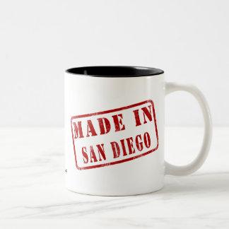 Made in San Diego Two-Tone Coffee Mug