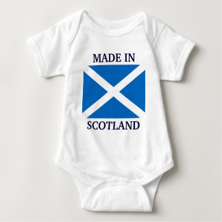 Made in Scotland custom baby clothing Baby Bodysuit