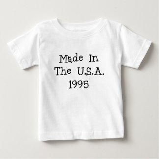 Made in the usa 1995.png baby T-Shirt