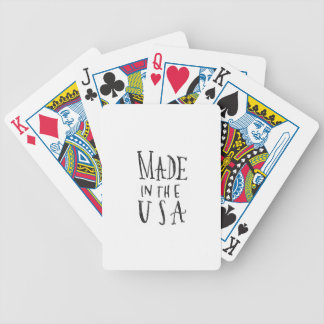 Made in the USA Bicycle Playing Cards