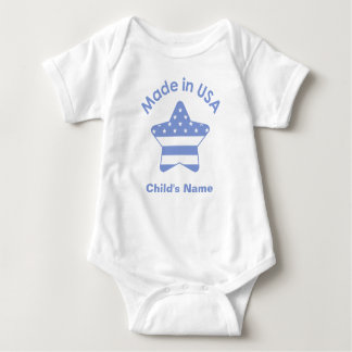 Made In USA Baby Blue T-Shirt