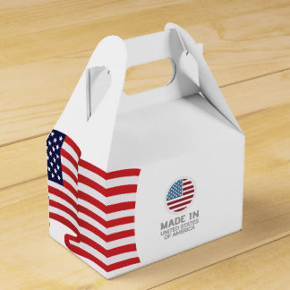 Made in USA! Design in USA!! Favour Box