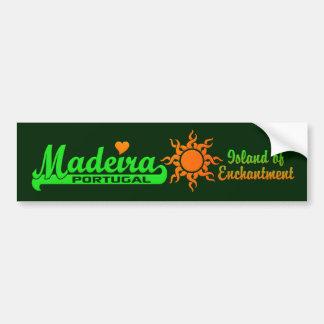 MADEIRA bumpersticker Bumper Sticker