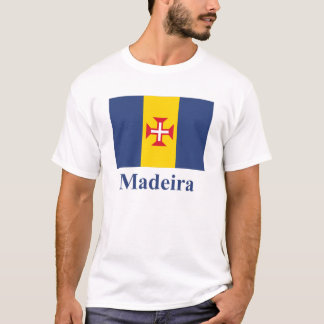 Madeira Flag with Name T-Shirt