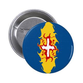 Madeira Gnarly Flag Pinback Buttons