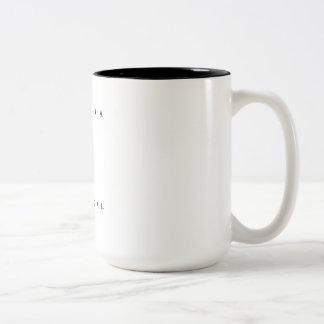 Madeira Portugal Scuba Dive Flag Two-Tone Coffee Mug