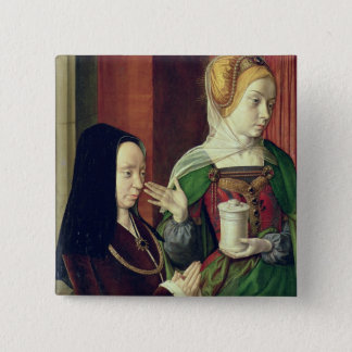 Madeleine of Bourgogne presented by St. Mary Magda 15 Cm Square Badge