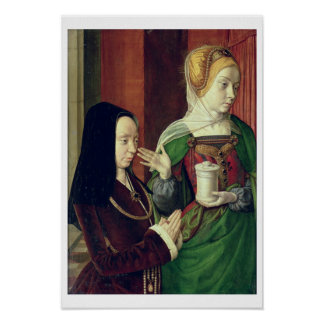Madeleine of Bourgogne presented by St. Mary Magda Poster