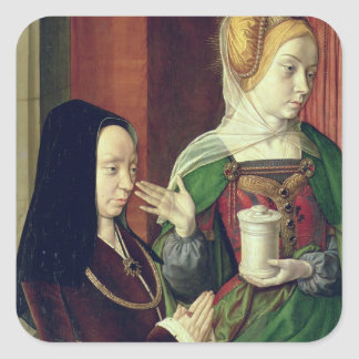 Madeleine of Bourgogne presented by St. Mary Magda Square Sticker