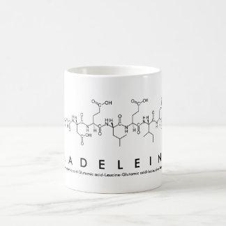 Madeleine peptide name mug