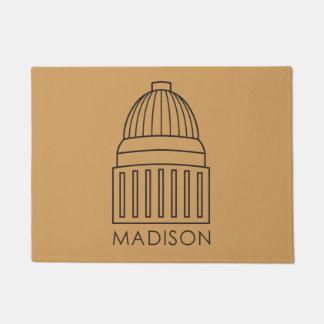 Madison Wisconsin Capitol Building Doormat