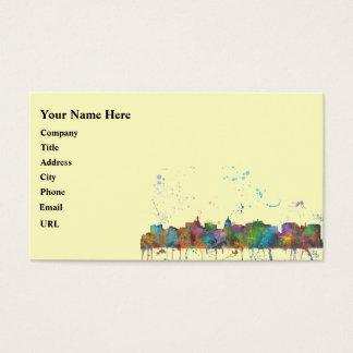 MADISON, WISCONSON SKYLINE BUSINESS CARD