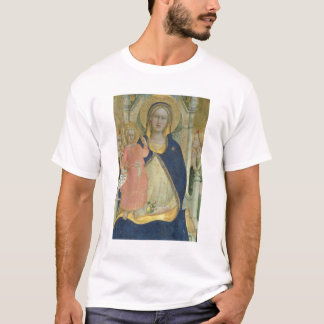 Madonna and Child enthroned with Saints, detail sh T-Shirt