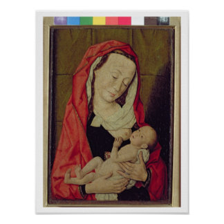 Madonna and Child (panel) Poster