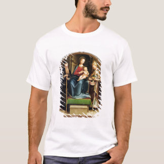 Madonna and Child with St. Anthony Abbot and St. N T-Shirt