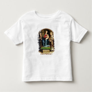 Madonna and Child with St. Anthony Abbot and St. N Toddler T-Shirt