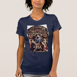 Madonna Of The Rosary By Lotto Lorenzo (Best Quali T-Shirt
